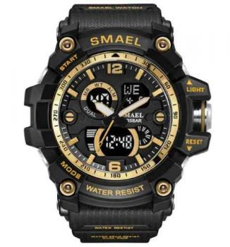 Relógio Masculino Militar G-shock Smael Ws1617b Resistente Água