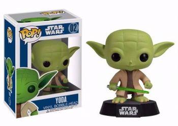 Star Wars Mestre Yoda Boneco Pop Vinil Da Funko