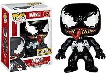 Funko Pop Venom Preto #82 Exclusivo