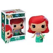 Disney A Pequena Sereia Ariel Boneca Pop Vinil Funko 9 Cms