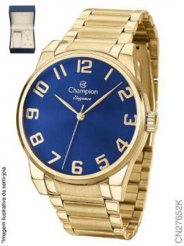 Relógio Champion Feminino Dourado Cn27652k - Kit Semijoia
