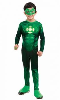 Fantasia Lanterna Verde Hal Jordan Infantil Longo
