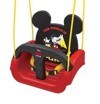 Balanço Infantil Mickey Com Encosto E Cinto 19798 - Xalingo