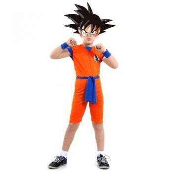 Fantasia Goku Dragon Ball Cosplay Infantil