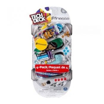 Tech Deck 4 Pack Multipack Cores Sortidas Multikids - Br338