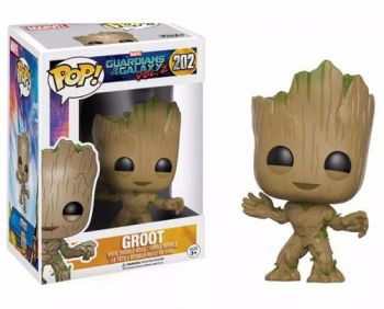 Funko Pop! Guardians Of The Galaxy Vol 2 Toddler Groot #202