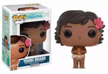 Disney Moana Boneca Menina Moana Pop Funko 8,5cms