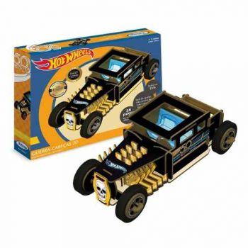 Quebra-cabeça 3d Hot Wheels 50 Anos Xalingo