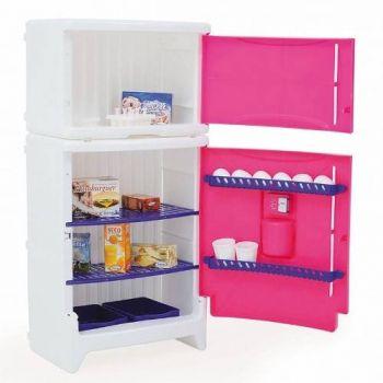 Refrigerador Duplex Casinha Flor E Acessórios - Xalingo