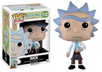 Funko Pop Rick E Morty - Boneco Rick #112