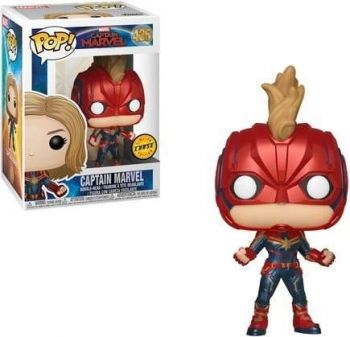 Funko Pop Capitã Marvel Vinyl Vingadores 425 Limited Edition