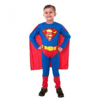 Fantasia Super Homem/superman Luxo Classico Sulamericana