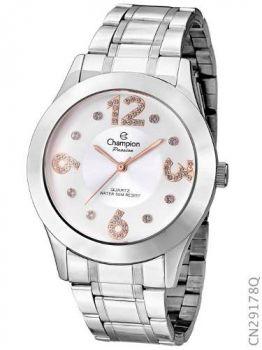 Relógio Analógico Feminino Champion Fashion Cn29178q Prata