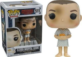 Funko Pop Tv: Stranger Things - Eleven Hospital Gown #511