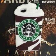 Case Capa Capinha Iphone 5s E 6 Plus Starbucks
