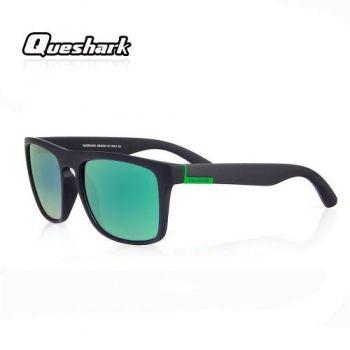 Óculos De Sol Esportivo Bike Speed Queshark Holbrook Verde