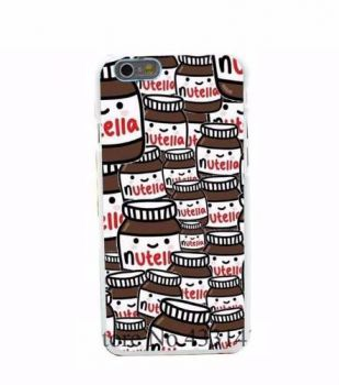 Case Capinha Capa Acrílico Nutella Iphone 6 6s