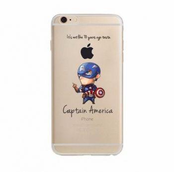 Capinha Case Capa Iphone 6 Plus Vingadores Capitão América