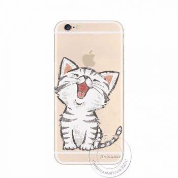 Capinha Case Capa Silicone Tpu Iphone 6 Gatinho Gato