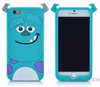 Capinha Capa Case Iphone 6 6s Monstros Sa Sulley