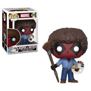 Marvel Deadpool Boneco Pop Funko Deadpool As Bob Ross #319