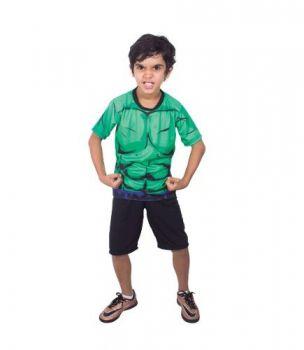 Fantasia Hulk Infantil Vingadores Guerra Infinita