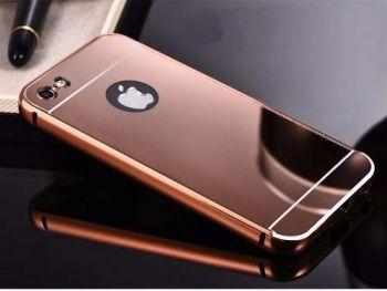 Capa Alumínio Espelhada Luxo Iphone 5 5s Se