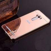 Capa Case Bumper Espelhada Asus Zenfone 2 Laser Tela 5.5 Top  - ROSA
