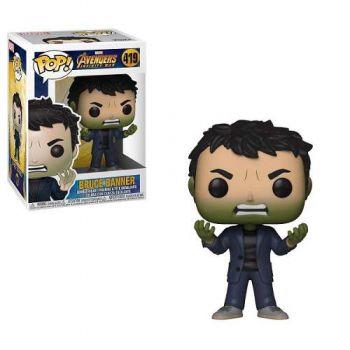 Funko Pop! Avengers Infinity War Bruce Banner With Hulk Head