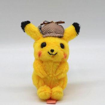 Detetive Pikachu O Filme - Pelúcia Original E Nova 10cm