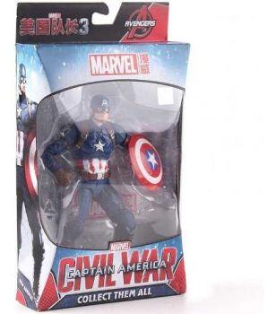 Action Figure Capitão América Guerra Civil - Marvel