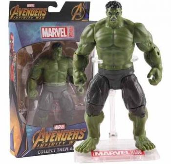 Action Figure Hulk - Guerra Infinita - Marvel - Com Base