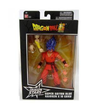 Boneco Articulado Goku Blue Kaioken Dragon Ball Super