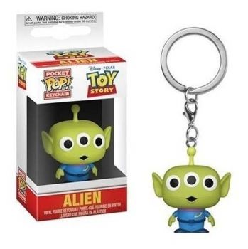 Disney Toy Story Chaveiro Mini Boneco Pop Funko Alien
