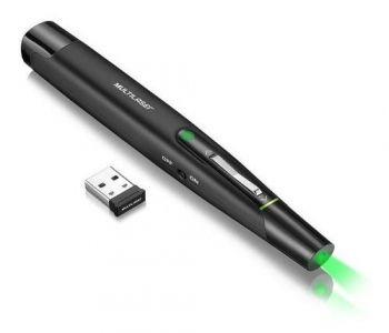 Laser Pointer Multilaser 2.4ghz Verde Ac278