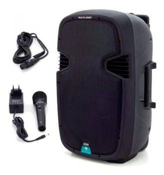 Caixa De Som Amplificada 15 Pol Bluetooth Multilaser Sp220