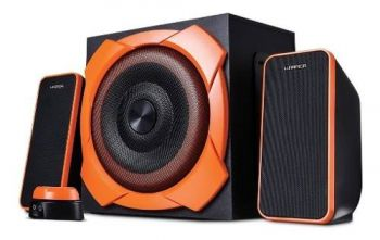 Caixa De Som 2.1 Grande Gamer 50w Rms Warrior - Sp266