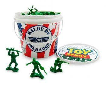 Balde C/ 60 Soldados Toy Story Original - Toyng
