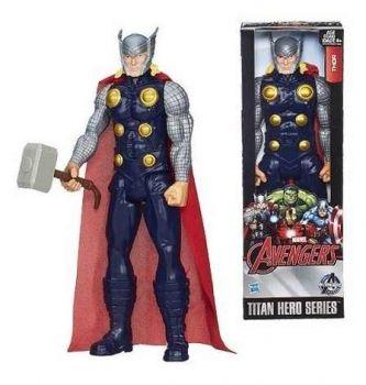 Boneco Thor Vingadores Titan Hero Hasbro 30cm Pronta Entrega