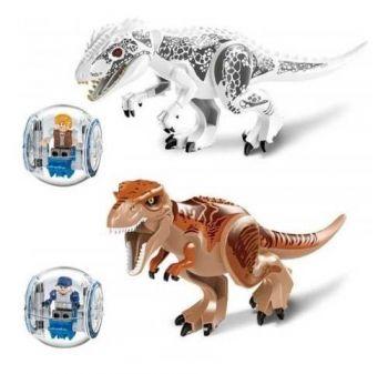 Dinossauros Tiranossauro Rex Indominus Rex - Girosferas!