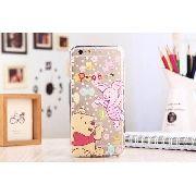 Capinha Case Silicone Iphone 6 / 6p Disney Ursinho Pooh Puff