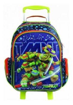 Mochilete Tartarugas Ninjas 11232 Mochila Brilha No Escuro