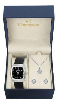 Relógio Champion Analógico Ch28951k Feminino - Preto