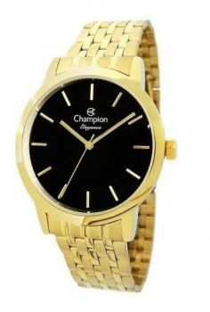 Relógio Champion Feminino Analógico Dourado Cn27732u