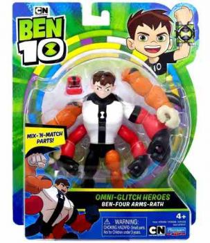 Figuras De Ação Ben 10 Match N Quatro Bracos Playmates Toys