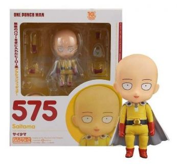 Action Figure One Punch Man Saitama Nendoroid Pronta Entrega