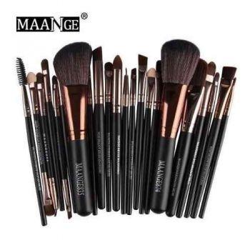 Kit Pinceis Maquiagem Profissional Maange 22 Peças 835