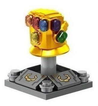 Manopla Com 6 Joias Guerra Infinita Vingadores Thanos Ma1