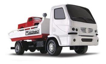 Caminhão Urban Guincho + Caminhonete - Roma Brinquedos