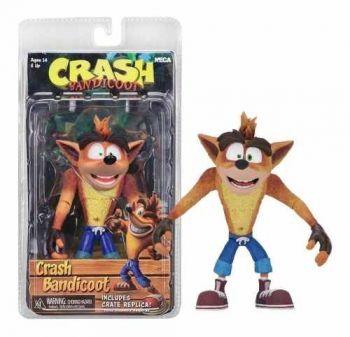 Action Figure Crash Bandicoot Boneco Articulado Neca Serie 1